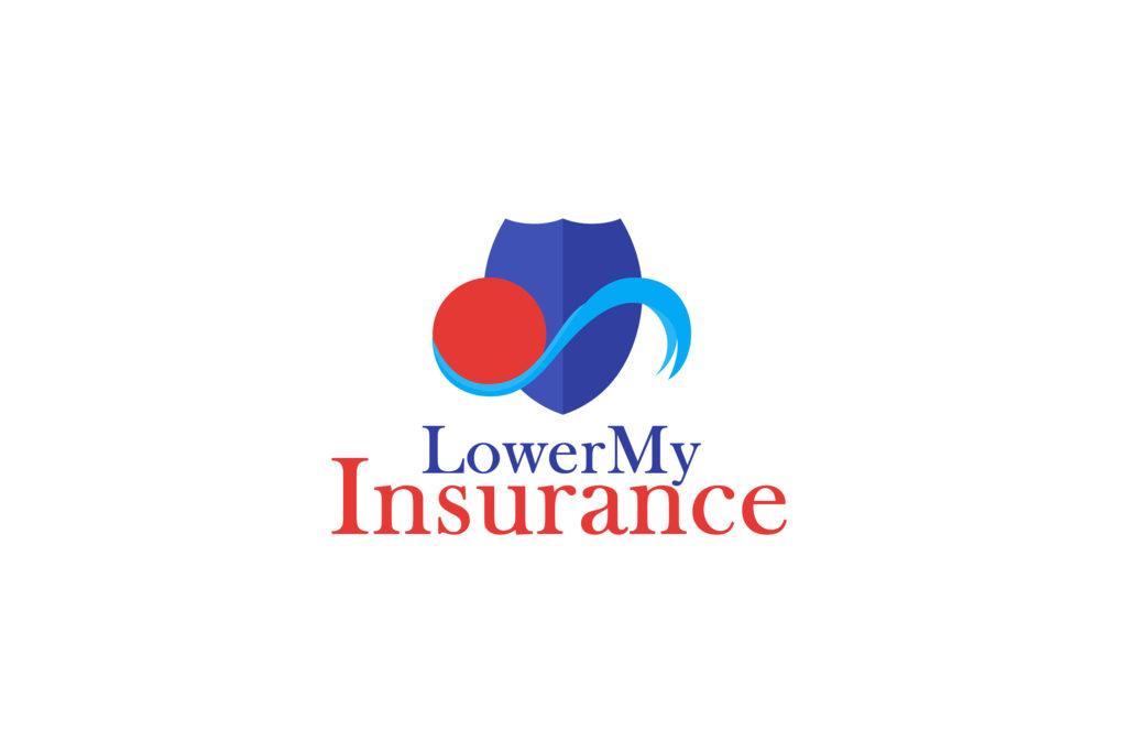 Lower My Insurance Logo Design