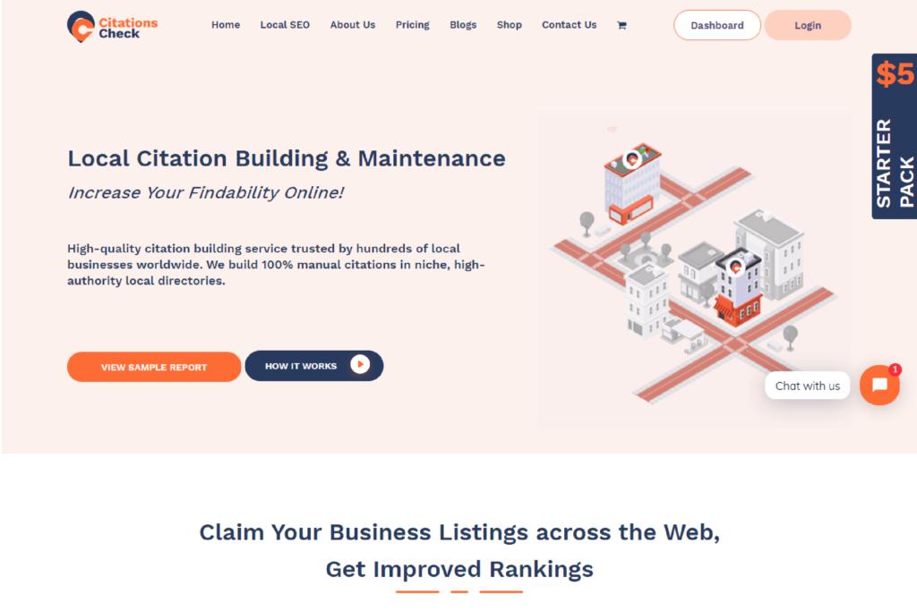 Citation check Basic Website Designing