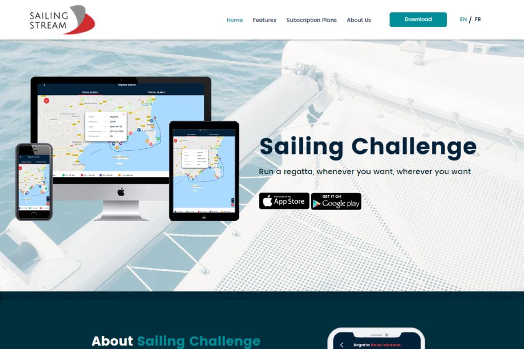 Sailing Stream CMS Website Designing