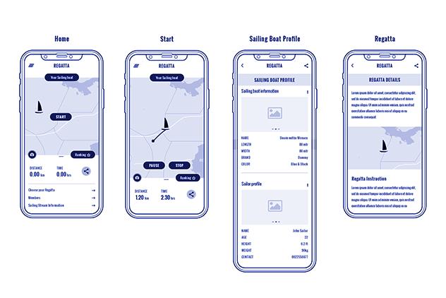 UI/UX Front-end Designing Regatta